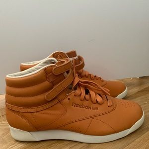 BRAND NEW Women's Reebok Freestyle High Tops